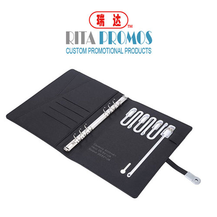"<img src=""Tech portfolio with powerbank.jpg"" alt=""high quality multifunctional notebook"" />"